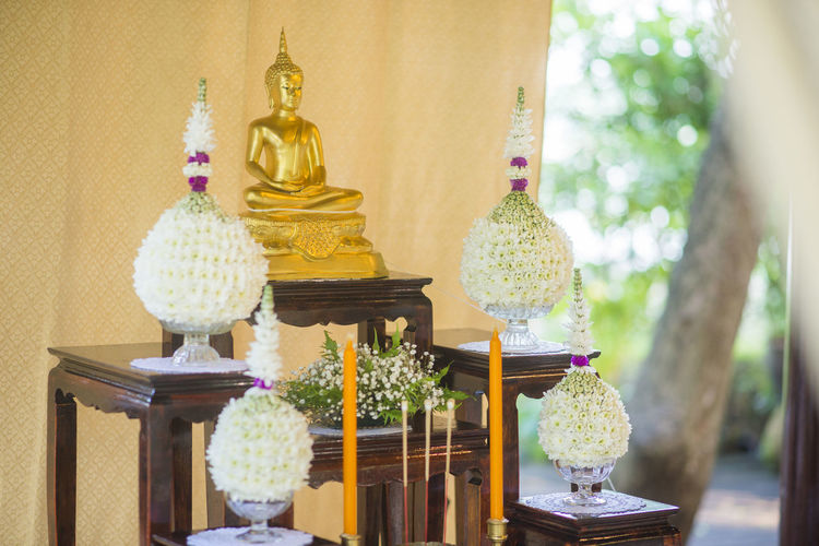 Backgrounds Ceremony Day Decoration Engagement Flower Green Thaiculture Thailand Thaiwedding Wedding Wedding Ceremony