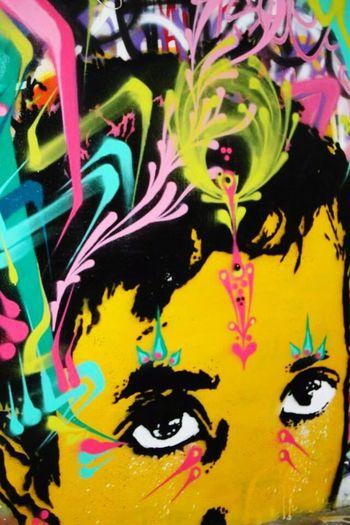 Tony Montana gone Picasso. . . (Abandoned Miami Marine Stadium Key Biscayne, FL)
