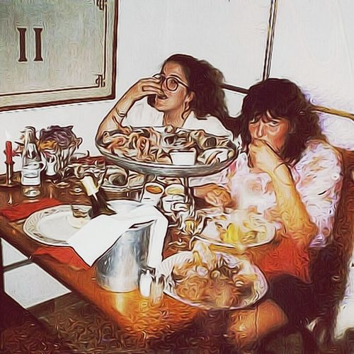 "Saint-Tropez Restaurant eating all types of shellfish—circa 1989. [Now I'mallergic to shellfish] Me & my friend Corine [pen-pals for years & friends for life (thanks to 'the Big Blue Marble').] France Sainttropez Friend *Posting to market, no model release tho.. My friend has been ill since heart attack & stroke; therefore, hasn't been communitive. Greatmemories Greatmoments #photo got wet w/ perfume. Edited, and used Soft F2 filter. Photography ""Capture the moment"" Capture The Moment Picturing Individuality THESE Are My Friends"