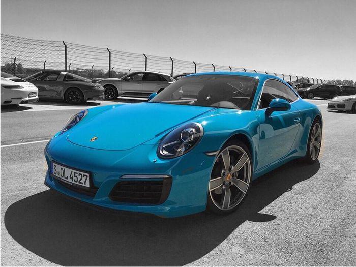 Porsche 911 Carrera Car Sportscar Landscape