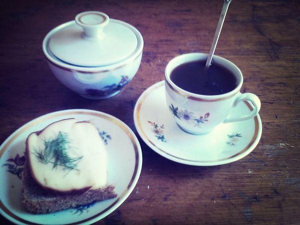 Relaxing Enjoying Life Breakfast Morning Coffe