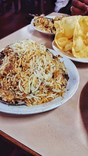 BIRIYANI ❤️ Chıcken Chicken Biryani Biriyanilove Fortkochi Plate Food Food And Drink Ready-to-eat Table Freshness Indoors  Serving Size No People Bowl Temptation Healthy Eating Meal Appetizer Close-up Day