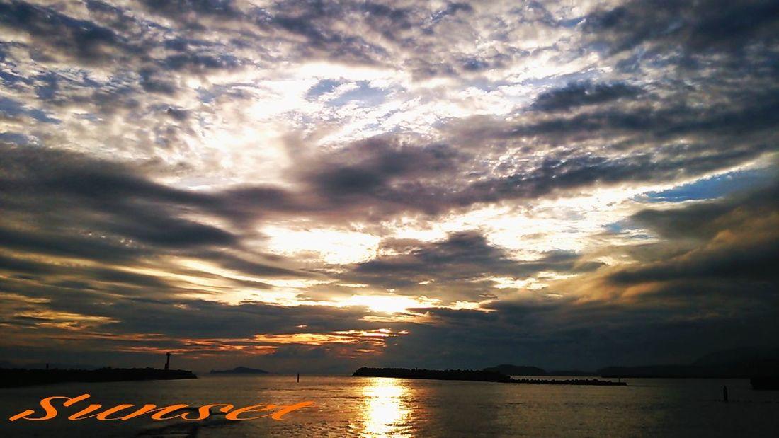 Sunset Miyazaki Kushima Sky Cloud Fresh Air Yuka  Relaxing 夕凪