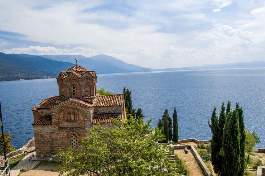 Building Exterior Macedonia Ohrid Ohrid Lake Ohrid Macedonia Orthodox Orthodox Church Scenery Scenery Shots Scenics Sea