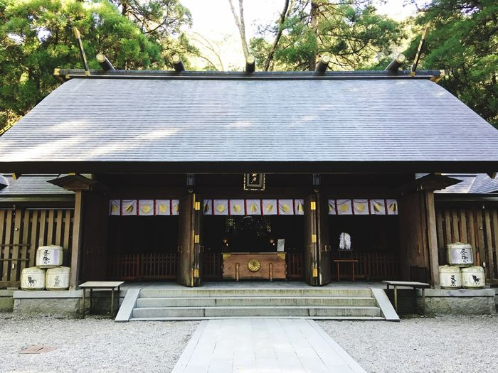 Temple - Building Japan Takachiho Architecture Built Structure Building Exterior Day Building Plant Tree