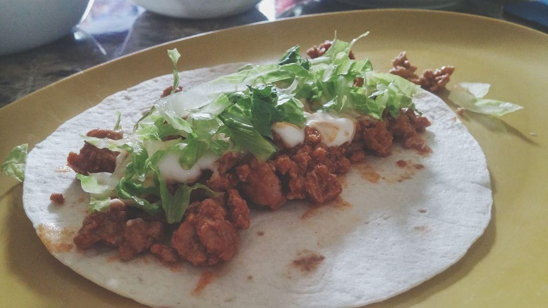 Homemade Food Tacos
