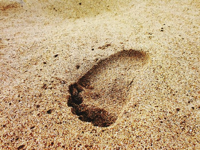 One step Sand & Sea Step By Step Foot Prints In The Sand Two Is Better Than One