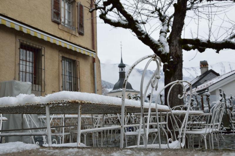 #Chair #Gruyère #moutainroad #no Filter #nofilter#noedit #restaurant #in #brzydgoszcz #snow #Snow ⛄ #snowday #Switzerland #tabledaligre  #terrasse #Winter