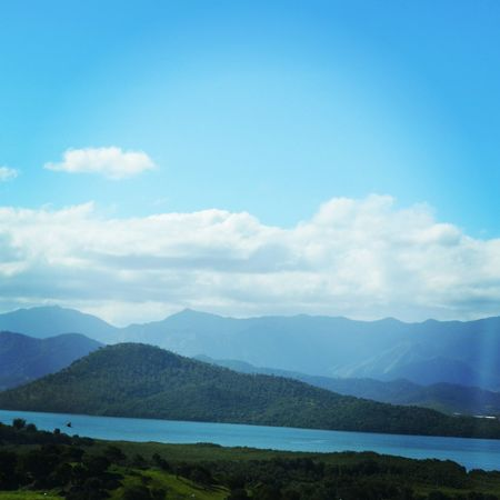 Mountains Sea Bluesky Noumea #newcaledonia