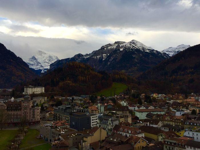 Interlaken-hoheweg 🇨🇭 Switzerland Traveling Traveling Photography Landscape Landscape_photography Cloud And Sky In The Morning Architecture