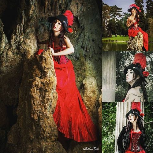 Photographer : @Matthias G. Photographie 📷 Model : @stellicita 👄 Facebook : https://facebook.com/Stellicita 💻 Pirate Red Altmodel Longdress Shooting Photooftheday Preview Dreadslocks Alternative Napoleon Feather  Cockedhat Steampunk Corsets Blacksail Blackflag Grotto Pillar Paris Parisjetaime JesuisParis Vincennes Lacdedaumesnil Daumesnil