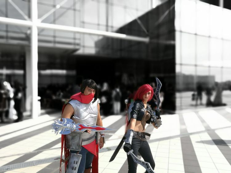 Italy Rome Romics Romics2016 Cosplay Focus On Foreground Cosplay Shoot