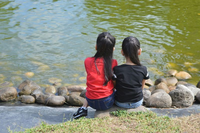 Kids Lovin The Nature Enjoying Life