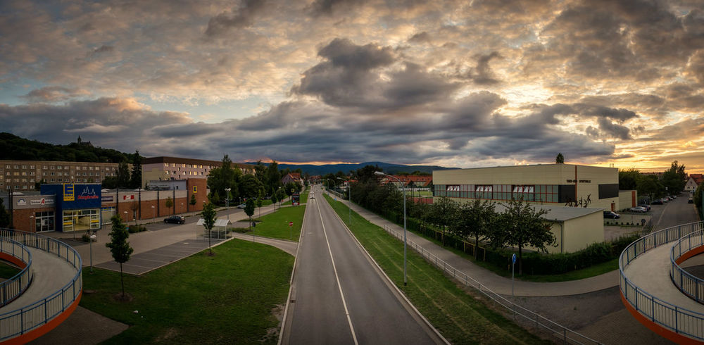 Panorama Ansicht auf Wernigerode EyeEm Nature Lover Sachsen-Anhalt Wernigerode Architecture Building Exterior Built Structure City Cloud - Sky Day Harz Harzmountains House Nature No People Outdoors Residential Building Sky Storm Cloud Sunset Town Tree