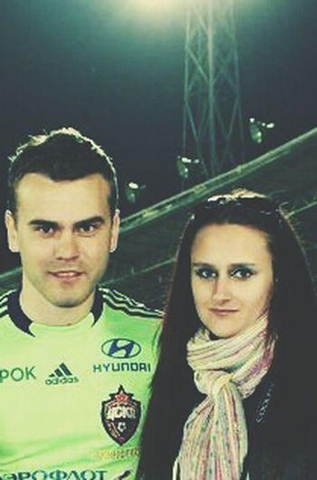 Enjoying Life That's Me & Lgor' Akinfeev = CSKA