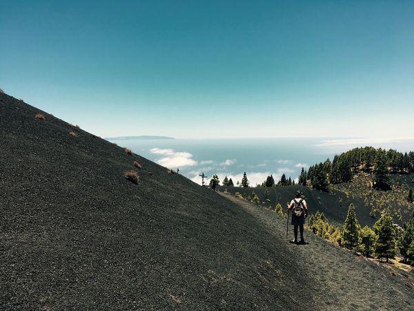 Fuencaliente De La Palma La Palma Canarian Islands Volcano Hike Black Sand EyeEmNewHere