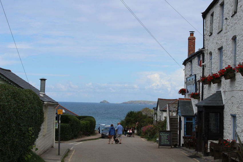 St Agnes - Near Perrinporth Cornwall St Agnes Built Structure Outdoors Real People Street The Way Forward