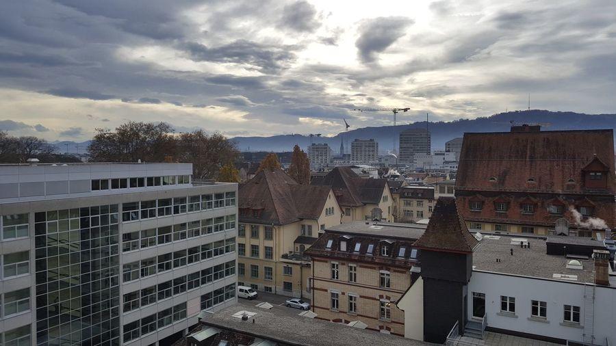 Cloud - Sky City Life Tbz Zürich Highlife First Eyeem Photo