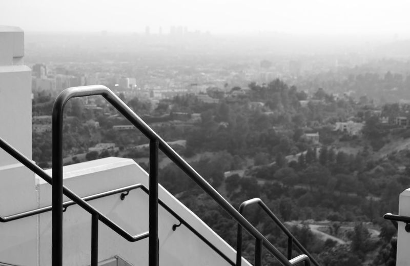 Architecture Built Structure City Cityscape Day Iron Railings Los Angeles, California Los Ángeles Nature No People Outdoors Part Of Railing Railings Sky Travel Destinations