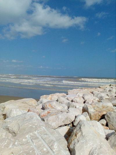 EyeEm Selects Water Sea Beach Wave Sand Blue Rock - Object Sky Horizon Over Water Cloud - Sky