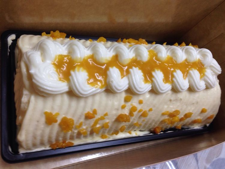 Cake Mango Cake Mango Roll Sweet Food Food Dessert Delicious Yummy Yum