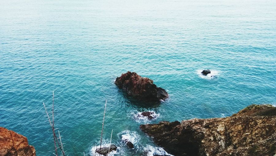 Sea High Angle View Nature Water Beauty In Nature Blue First Eyeem Photo