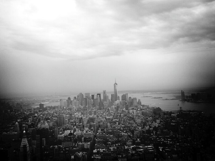 New York City from the Empire State building New York Photo Empire State Building In The Clouds