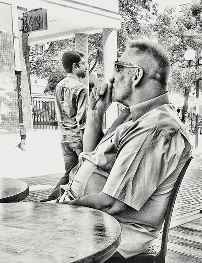 People on the street...3