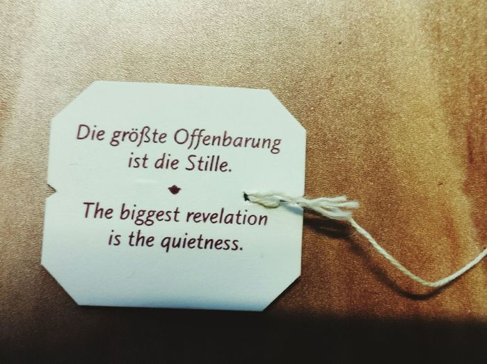 Yoga Patter Teabag Teebeutel Teebeutelspruch Spruch Great Words Schlaue Sprüche