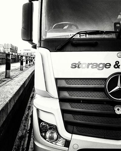 Mercedes Actros Truck Tramping Bandw Heavyedit Theiceco Coolerthan