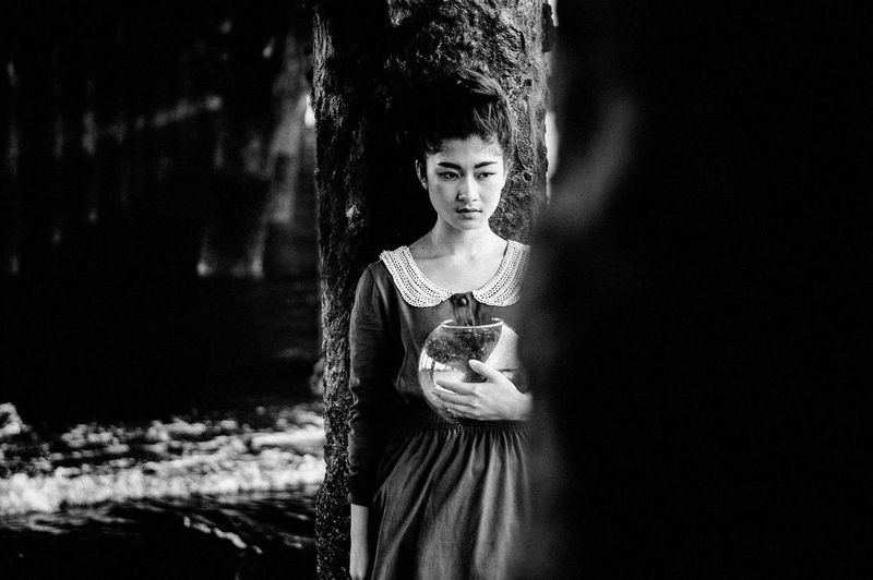 https://www.instagram.com/ynonsia Fine Art Photography The Portraitist - 2016 EyeEm Awards Asian Girl Showcase July Portrait Of A Woman EyeEm Best Shots The Week Of Eyeem EyeEm Black And White Portrait Girl Blackandwhite