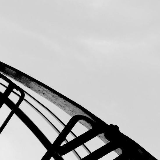 Off the Rails Forged Iron Detail Exterior Design Steps Staircase Stairs Rail Black And White Canon Railing Black & White Collection Not For SaleMontréalin Montreal, Canada