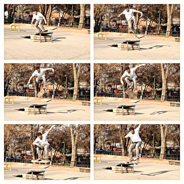 360 flip Skateboarding Enjoying Life Hello World That's Me
