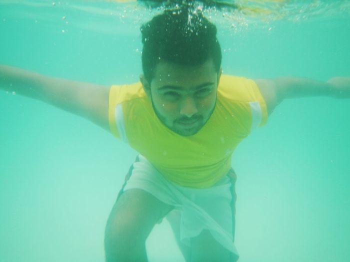 Taking Photos Underwaterphotography Cheese!