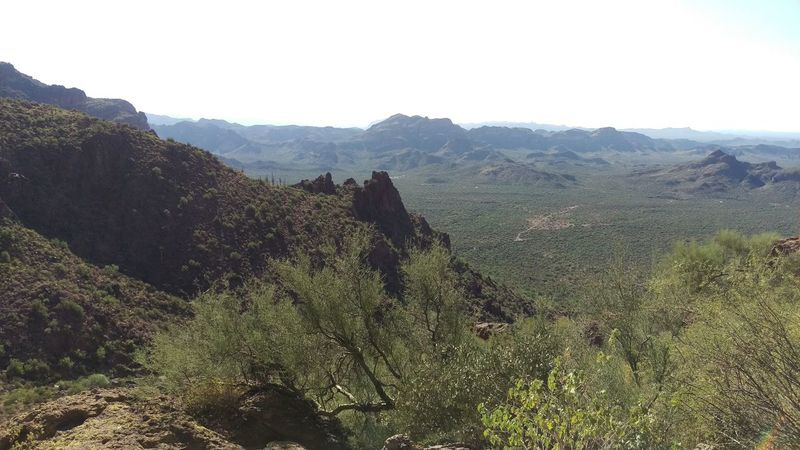 Arizona Beauty In Nature Day Landscape Mountain Nature No People Outdoors Scenics Sky Tranquility Tree