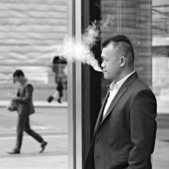 Deep in thought Up Close Street Photography Blackandwhite Citylife Toronto Nikon D7100