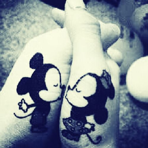 Micky Mouse Nd Minnie