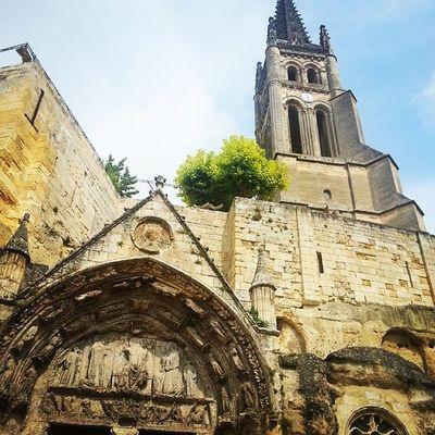 Eglise Saint Emilion Bordeaux wine French