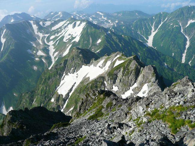 Japan Japon Montagne Trekking Randonnée Mountain Peak Day Scenics Beauty In Nature