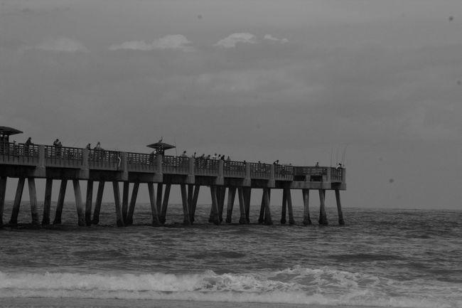 Beach Black & White Black And White Blackandwhite Jacksonville Beach Jacksonville Florida Jacksonvillebeach JacksonvilleFL