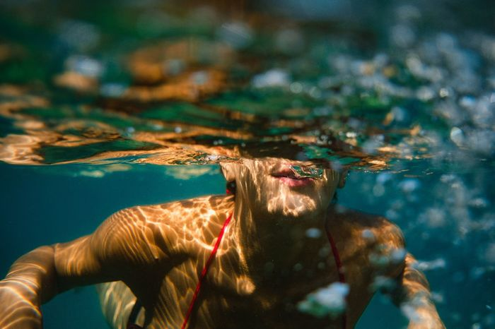 - Thirsty Portrait Of A Woman The Portraitist - 2018 EyeEm Awards Visual Creativity Enjoying Life Popular Photos FUJIFILM X-T2 Portrait underwater photography EyeEm EyeEm Best Shots Travcimages eyeemphoto EyeEm Gallery Eye4photography  Lifestyle Water Portrait Women Young Women Sea Outdoors Swimming