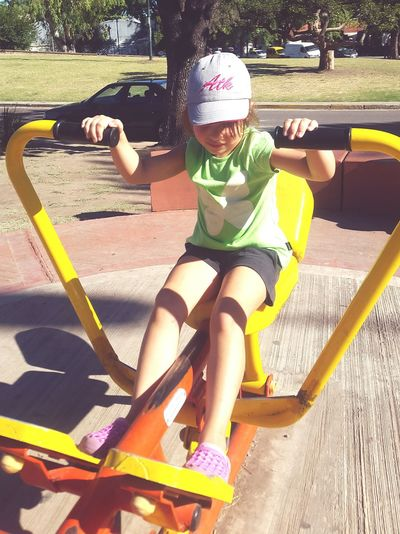 Little Happy People Happy :) Little Girl At The Park At The Park .  At The Park⛳ A Day At The Park My Princess Hat My Little Daughter My Daughter ❤️ My Daughter ♥ My Daughter Littlegirl At The Park <3 Happy Doing Exercise  Fitness Training Healthy Lifestyle Healthy Life Healthy Lifestyles