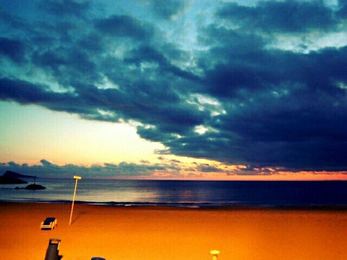 Clouds Beach Sunset Sky Movilgrafias Platja Sunsetlovers Fotosnuvols Fotoscel Skystyles