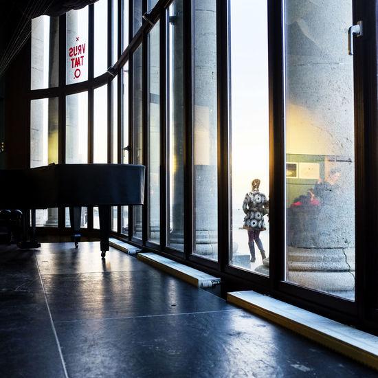Oostende Belgium 2015 Architecture Art Beach Business Column Corridor Dijk Door Entrance Glass Indoors  Iron Lonley Modern Northsea Oostende Beach Oostende 🌊 Oostende, Belgium Order Railing Sand Sea Transparent Walk Window
