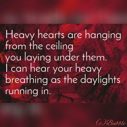 New Poem Hearts Break Lonely Little Sad Folowforfollow My Poems