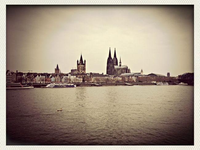Große Sankt Martin, Dom und Rhein