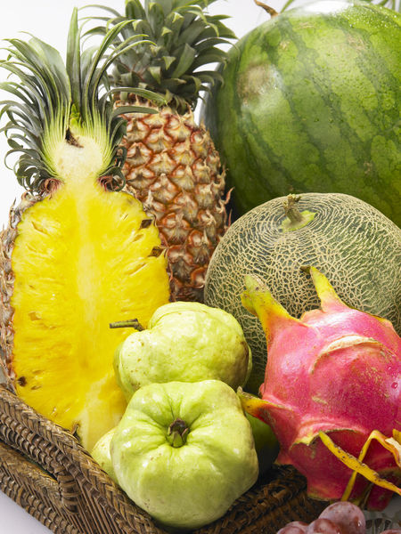 Banana Mango Pineapple Tropical Fruits Assortment Close-up Colorful Dragon Fruit Food Food And Drink Freshness Fruit Grape Guave Healthy Eating Honey Dew No People Orange - Fruit Papaya Pineapple Red Apple SLICE Strawberry Variety Watermelon