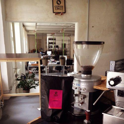 This is where the magic happens Coffee Circle Headquarter Lieblingskaffee Berlin Wedding