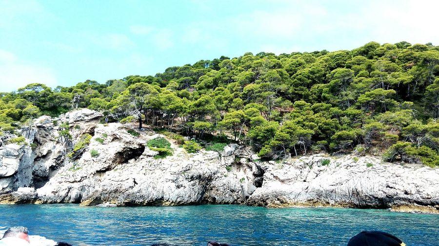 Isole Tremiti Scorcio Di San Domino.