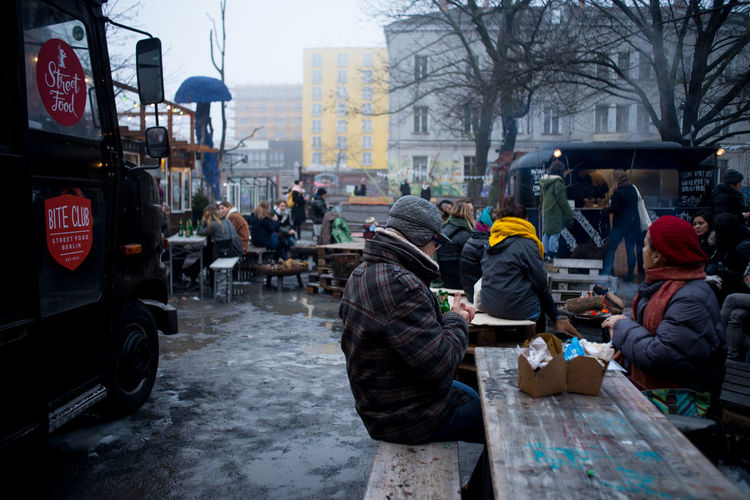 Art Festival Berlin City City City Life Europe Festival Outdoors People Real People Snow Strees Streetphotography Tree Trees Winter